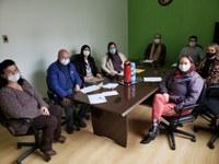 Vereadores se reunem com a Secretaria de Saúde